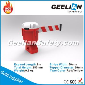 3meter Cone-Top Retractable Belt Topper&Retractable Belt Stanchion