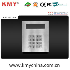 Waterproof Metal Keypad with Display (KMY3502H-YJ) pictures & photos
