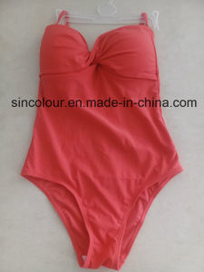 80%Nylon 20%Spandex Lady Swimsuit of One PC pictures & photos