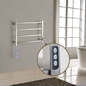 Stainless Steel Electric Bathroom Towel Holder with Timer pictures & photos