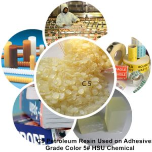 Granular C5 Petroleum Resin for EVA Hot Melt Adhesives Hj100-4 pictures & photos