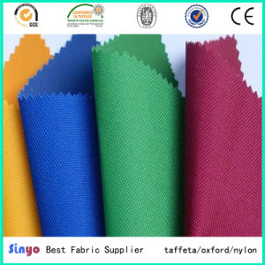 High Strength Polyurethane Coated Oxford 1000d Waterproof Nylon Fabric pictures & photos