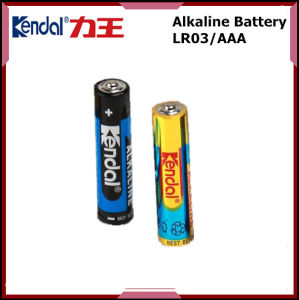 China Battery Manufacture Alkaline Cell Lr03 1.5V Camera Battery pictures & photos