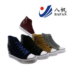 Canvas Shoes Woman Shoes Printing Shoes Bf1701178 pictures & photos