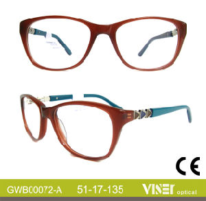 New Style Glasses Eyewear Frames Spectacles (72-B) pictures & photos