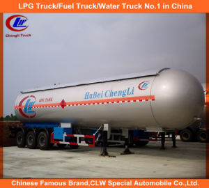 20mt 25mt Payload 3 Axle LPG Transport Semi Trailer pictures & photos