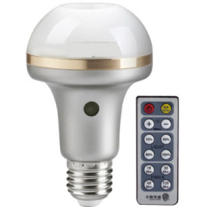 Multifuctional LED E27 6W Rechargeable Bulb Emergency Light