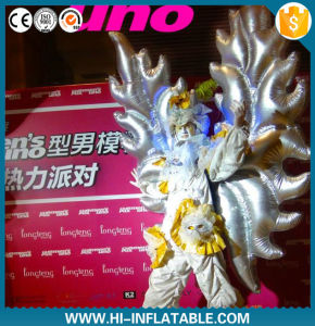 Attractive Inflatable Performance Costume, Inflatable Wing Costume
