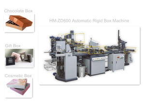 Hm-Zd600 Automatic Rigid Box Machine