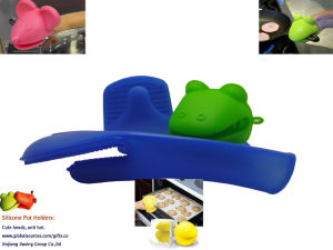 OEM New Design Anti-Heat Oven Mitt pictures & photos