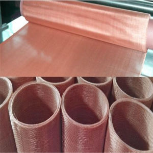 Pure Red Copper Woven Wire Mesh pictures & photos