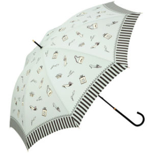 Manual Open Edge Lady Straight Umbrella (BD-37) pictures & photos