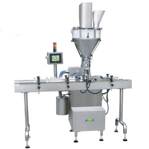 Automatic Auger Filling Packing Machine for Coffee Powder Milk Powder pictures & photos
