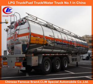 42000 Liters Heavy Duty 3 Axle Aluminum Fuel Tank Trailer pictures & photos