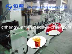 Made in China Automatic Paper Box Folding and Gluing Machine