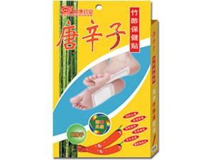Bamboo Vinegar Plasters with Chili Detox Patch pictures & photos