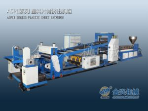 Single Layer Plastic Sheet Extruder Line