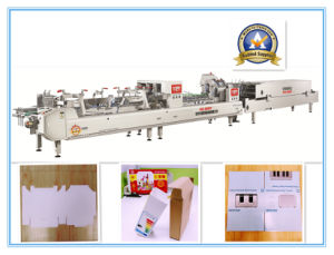 Xcs-650PF Efficiency Automatic Box Folder Gluer pictures & photos