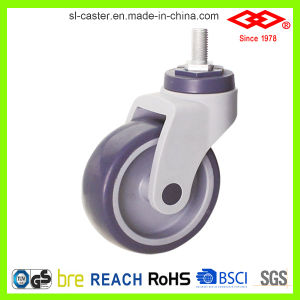 All Plastic Medical Castors Wheel (L502-39C100X32A) pictures & photos