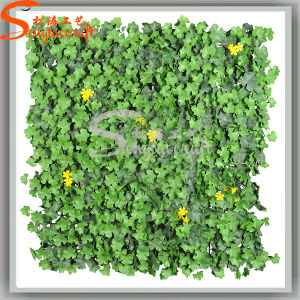 Wholesales Plastic Product Lawn Garden Decoration Artificial Grass Wall (AGL001) pictures & photos