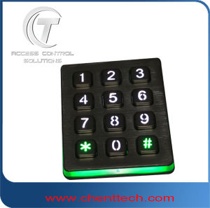 3X4 Backliting Keypad Used in Access Control Systems