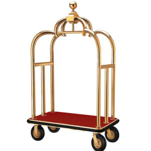 Wholesale Hotel Luggage Cart (DF62) pictures & photos