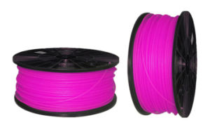 Pink Color 1.75mm or 3.00mm ABS 3D Filament for 3D Printer