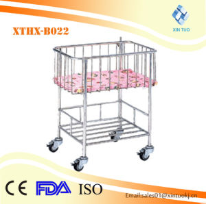 Wholesale Baby Cot/Hospital Baby Cot/Hospital Baby Trolleys pictures & photos