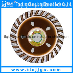 Vacuum Brazed Diamond Grinding Cup Wheel with Flange