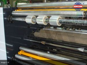High Speed Plastic Film Slitter Rewinder Machine pictures & photos