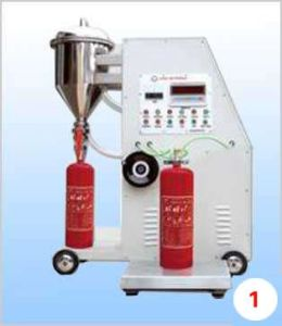 Automatic Type Fire Extinguisher Powder Filler Machine pictures & photos