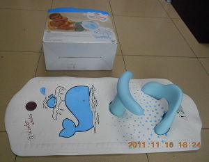 Baby Bath Mat With Safety Bath Seat
