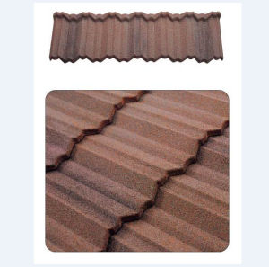 Metal Roof Tile with Stone Chips Coated pictures & photos