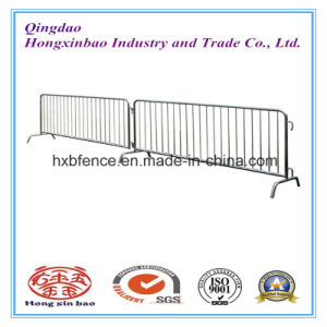 Galvanized Police Fence Used Road Barrier / Road Safety Barrier for Traffic pictures & photos
