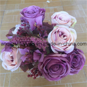 The Holiday Gifts with Artificial Flowers