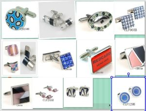 Fashion Men′s Stainless Steel Cufflink