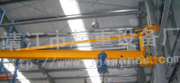 Electric Pilasters Style Jib Crane