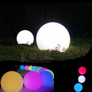 Large LED Ball Outdoor Lamp Garden Yard Light Waterproof pictures & photos