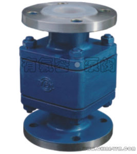 Lined Flanged Floating Ball Check Valve pictures & photos