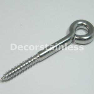 Stainless Steel Wood Screw Unwelded Eye Bolt pictures & photos