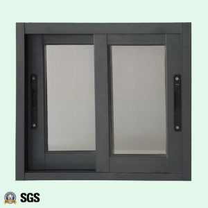 Powder Coated Aluminum Window with Latch Lock, Aluminium Sliding Windowm, Window K01008