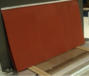 High Temperature Resistance Silicone Glassfiber Cloth for Heat Shrinking Machine pictures & photos