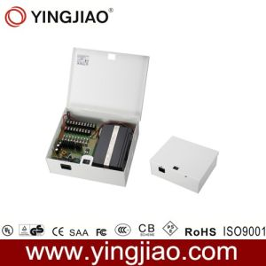 CCTV 16 Way Power Distribution Box with Battery Backup pictures & photos