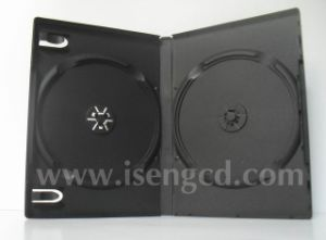14mm Standard Double Black DVD Case (YSD21465)