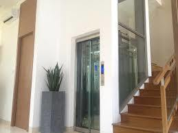 Villa Elevator with Gearless Mirror Stainless Steel of Japan Technology (Traction type) pictures & photos