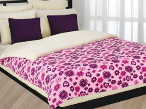 Printed Home Textile Coral Fleece Quilt
