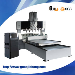 4 Axis 8 Spindles Marble CNC Router (DT8025-6) pictures & photos
