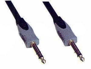 High Quality Nickel Plated 3.5mm-3.5mm Stereo Plug Audio Cable