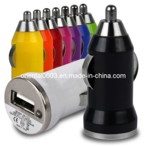 Mini USB Car Charger for iPhone 4 4s 5 5g 5s 5c 6 Plus Universal Car Adapter (OT-07)