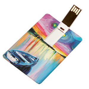Ultra Slim Card USB Drive Business Card USB Drive pictures & photos